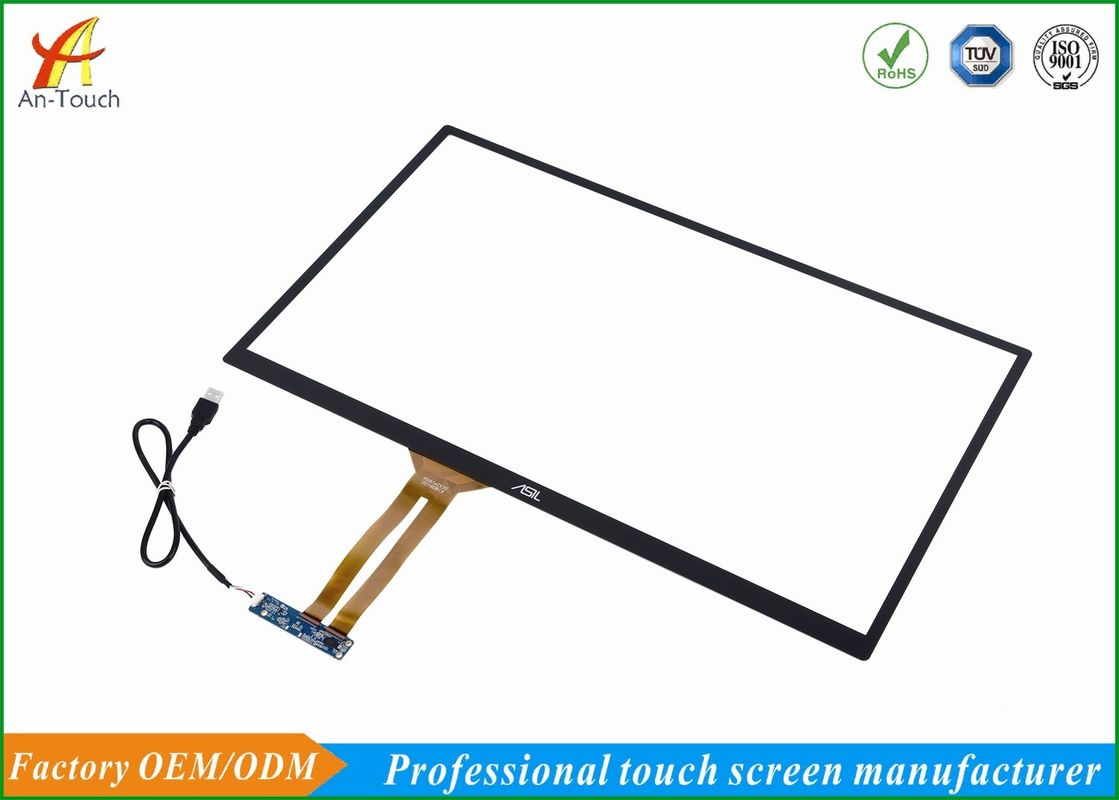Sensitive Game Touch Screen 23.8 Inch , Large Format Touch Screen Strong Compatibility