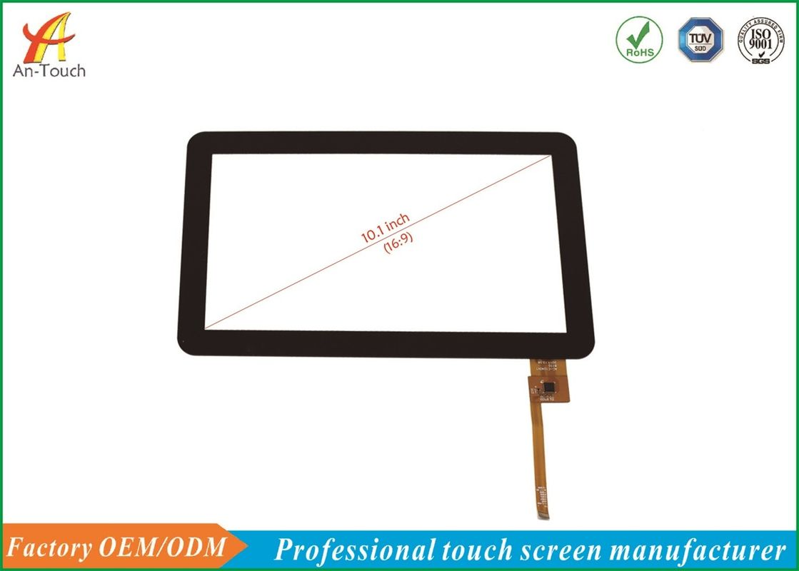 High Transparency Smart House Touch Screen Panels 10.1 Inch Capacitive