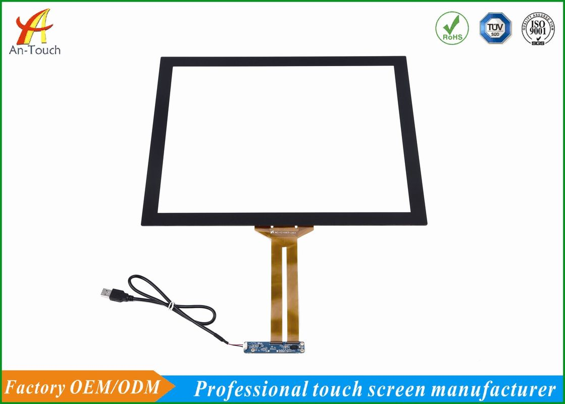 Custom Size Kiosk Touch Panel , 19 Inch Touch Screen Light Touch Activation
